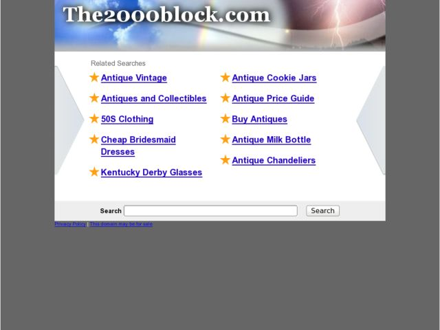 screenshot of The 2000 Block