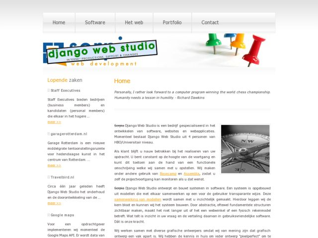 Serpia web development