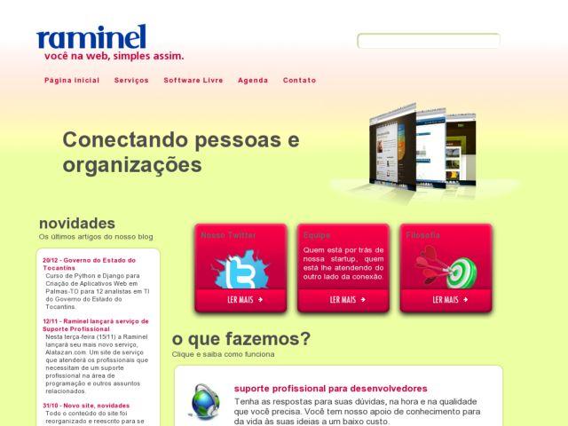 screenshot of Raminel Sites