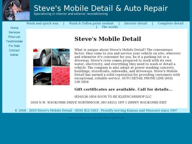 Steve's Mobile Detail