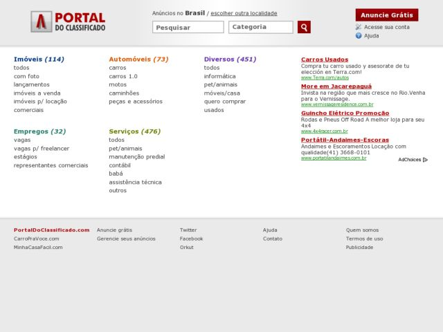 Portal do Classificado