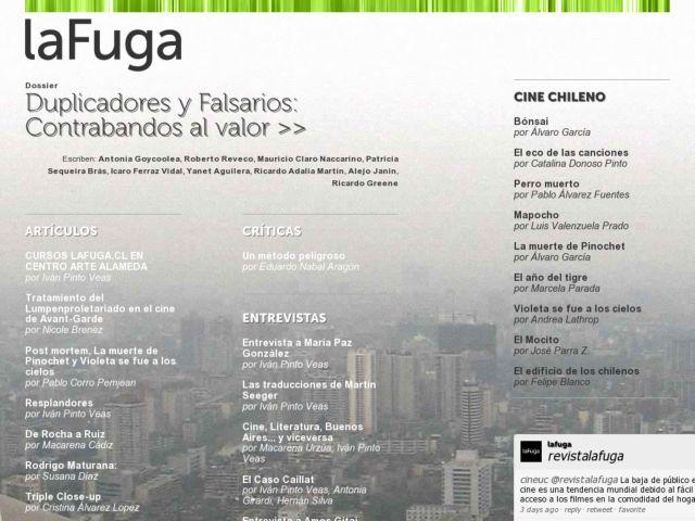 screenshot of laFuga
