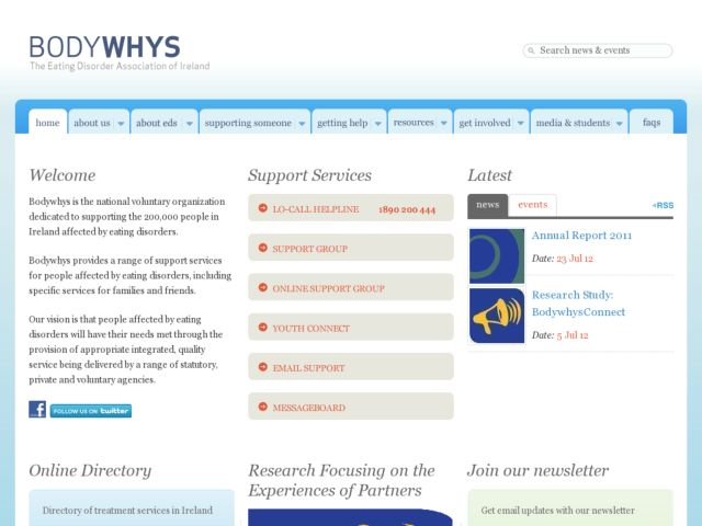 Bodywhys - The Eating Disorder Association
