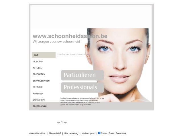 screenshot of Beauty Salon