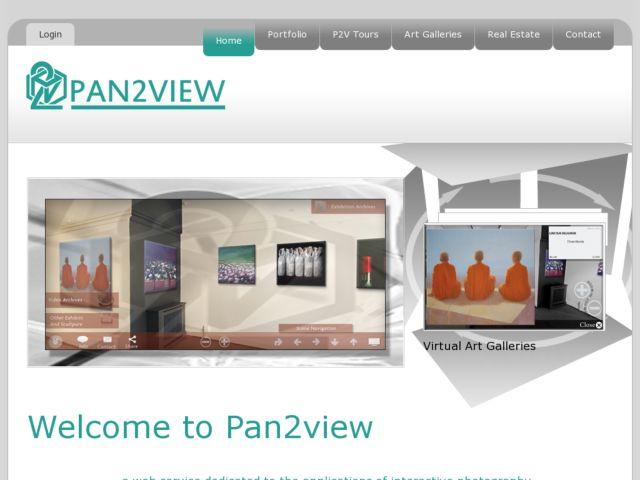 screenshot of Pan2View
