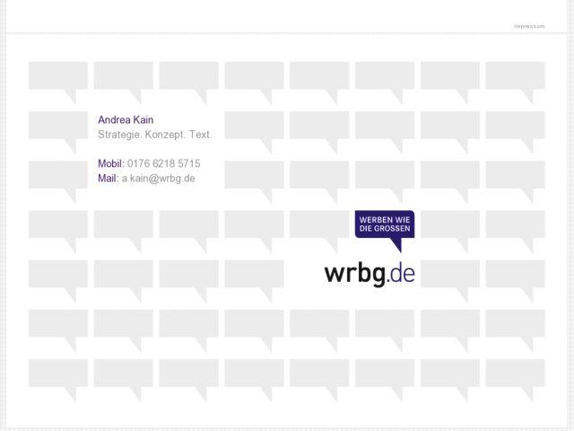 screenshot of WRBG