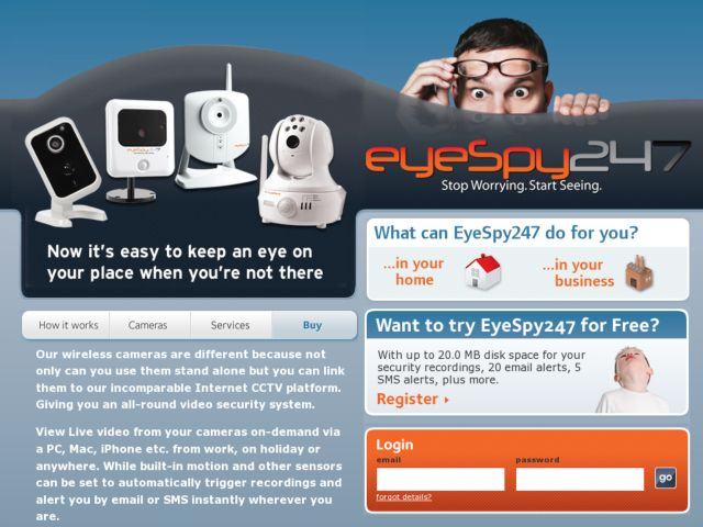 screenshot of EyeSpy247