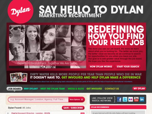 Dylan Recruitment for Marketing and Office Support JObs