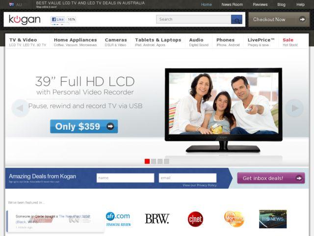 Kogan Technologies - Cheap LCD TVs
