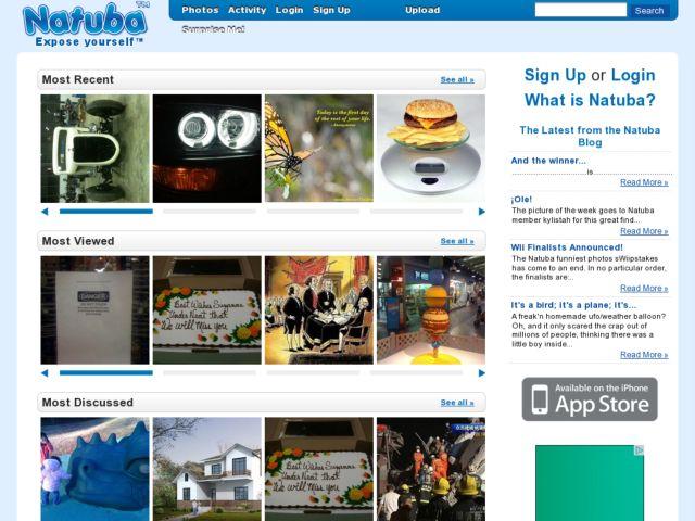 screenshot of Natuba