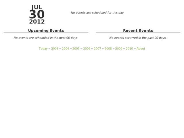 Django Events