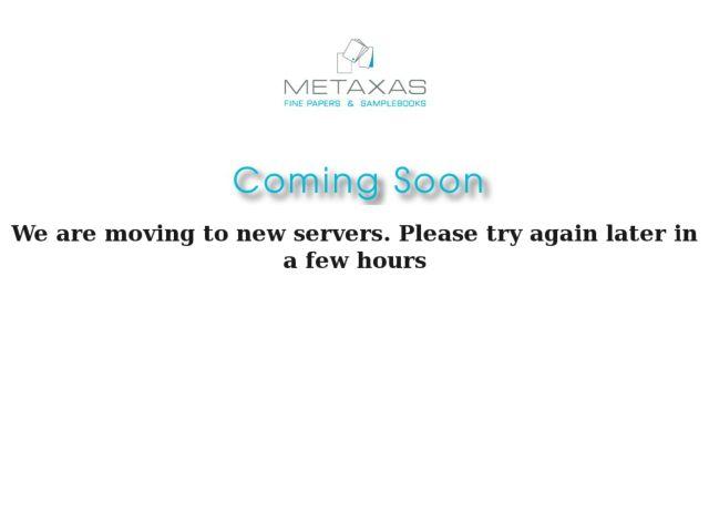 screenshot of Metaxas - Fine Paper A3-A4