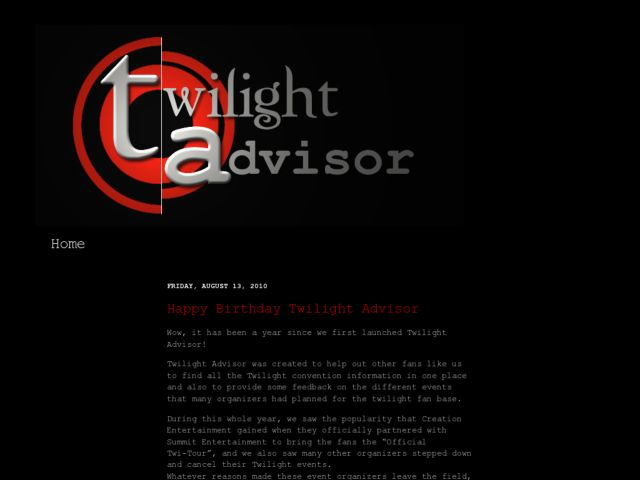 Twilight Advisor