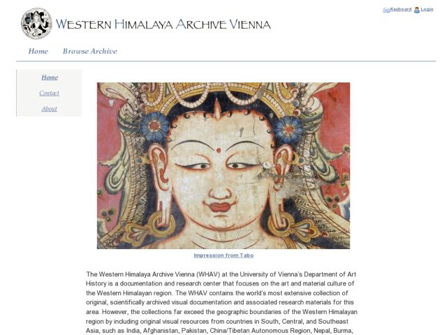 Western Himalya Archive Vienna