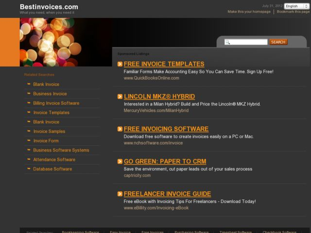 Best Invoices - poll about the best web application for invoicing/billing