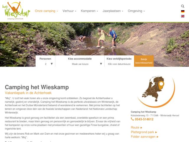 screenshot of Camping in Winterswijk, Netherlands
