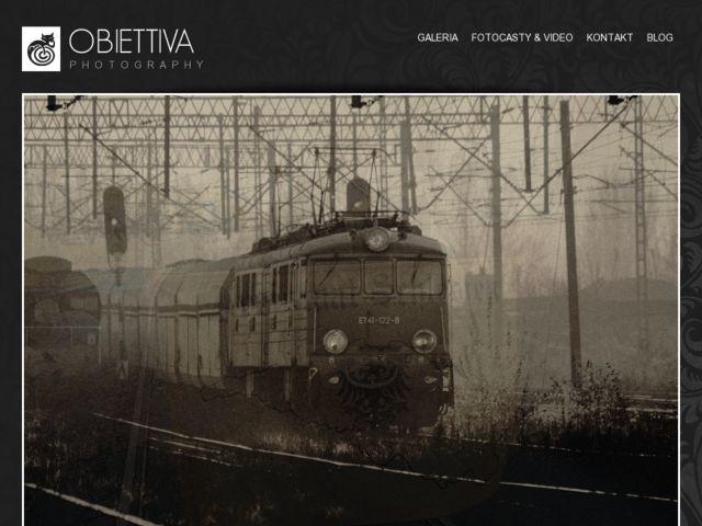 screenshot of Obiettiva photogallery