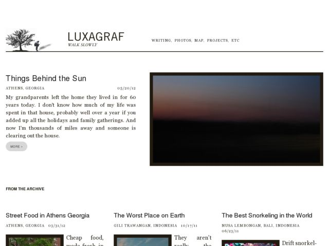 luxagraf: a travelogue