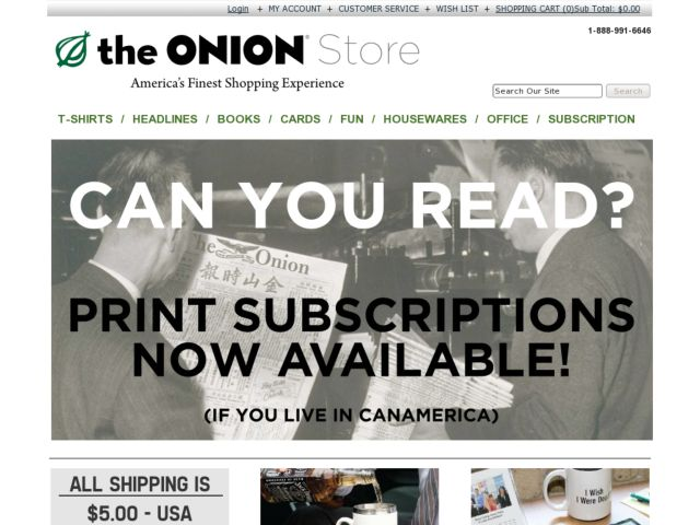 The Onion Store