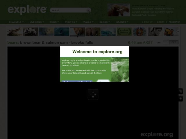 screenshot of Explore