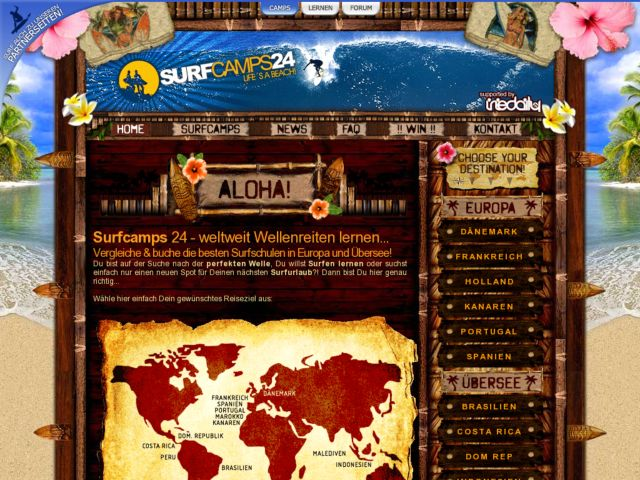 Surfcamps24 - Book german surfcamps around the world