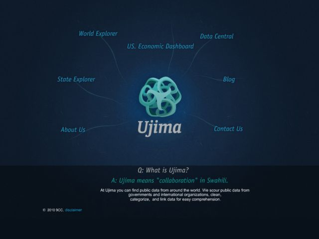 screenshot of Ujima Project