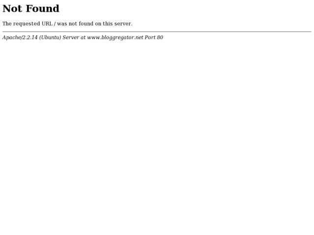 screenshot of Bloggregator