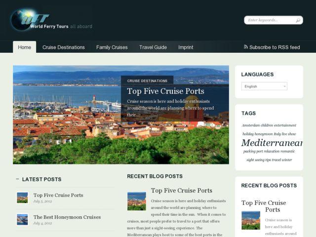 screenshot of goFerry™