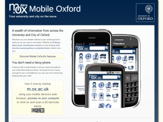 Mobile Oxford