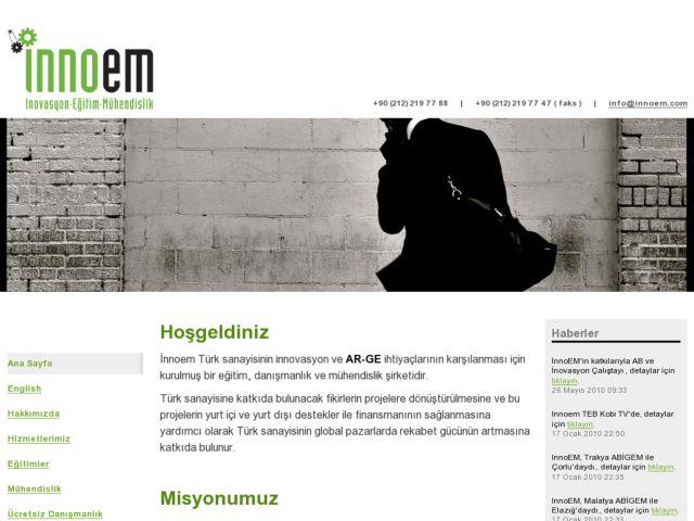 screenshot of Innoem