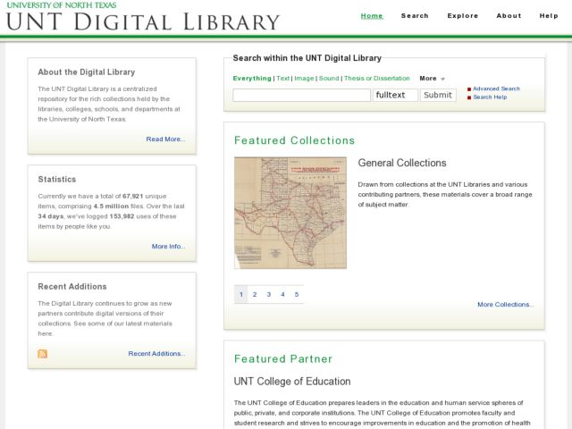 UNT Digital Library