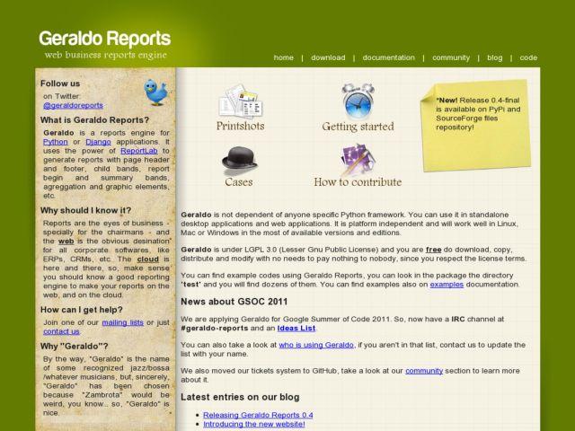 Geraldo Reports