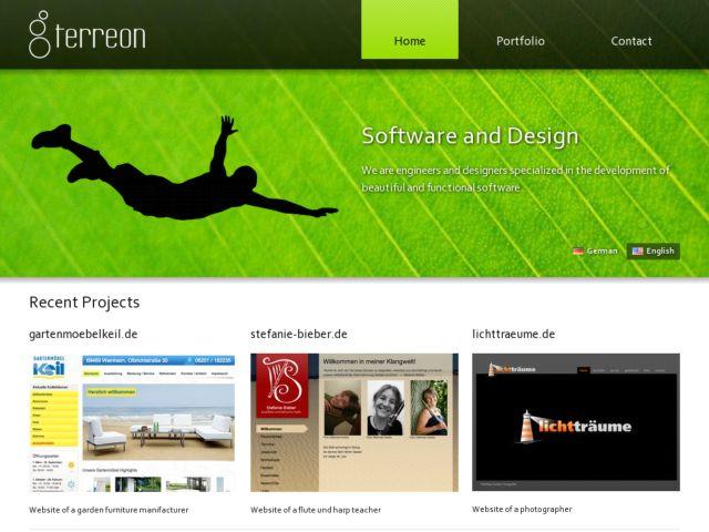 screenshot of Terreon