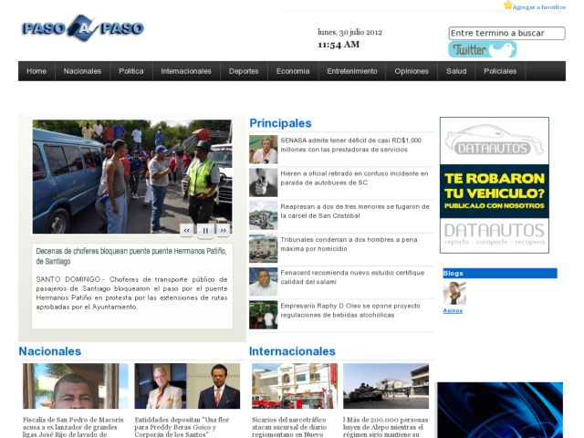 Paso a Paso Online NewsPaper