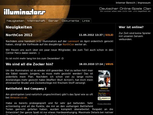 screenshot of Illuminators