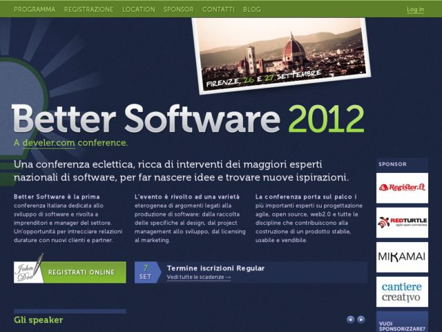 Better Software Italian Conference