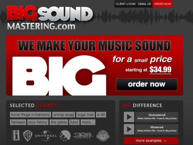 BigSound Mastering