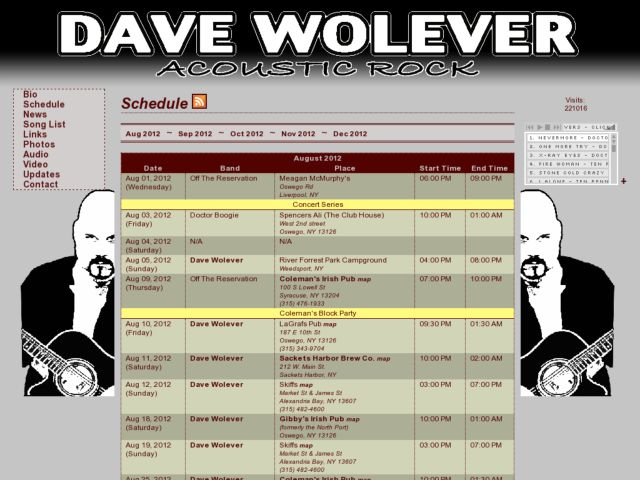 Dave Wolever Acoustic Rock