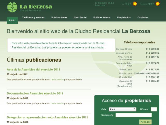 La Berzosa Residential City