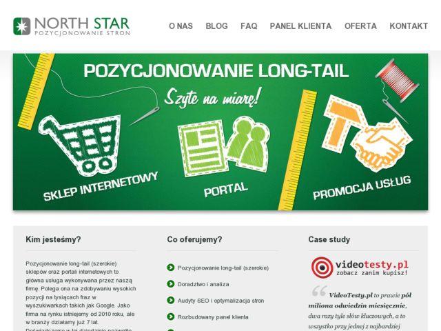screenshot of Pozycjonowanie Wrocław