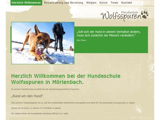 Hundeschule Wolfsspuren in Mörlenbach