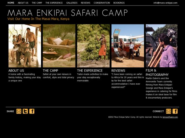 screenshot of Mara Enkipai Safari Camp, Masai Mara