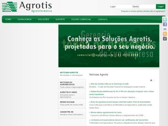 Agrotis - Soluções em Agroinformática