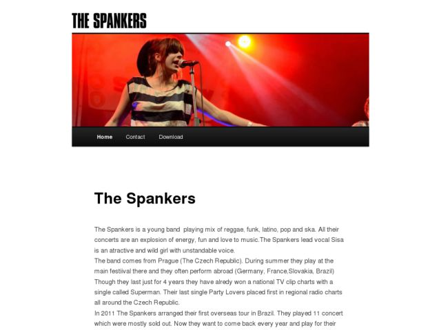 screenshot of The Spankers