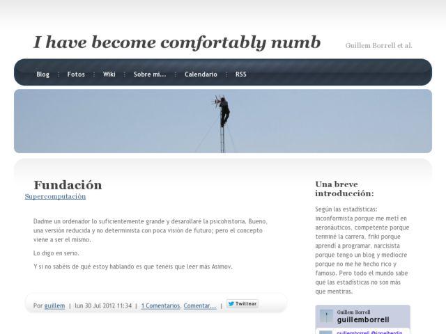 Guillem's website