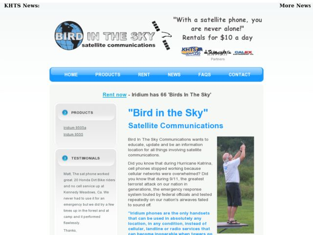 Bird in the Sky Communications