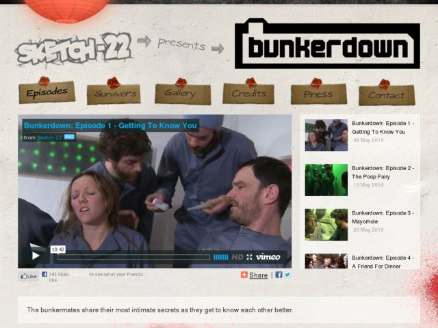 bunkerdown webseries