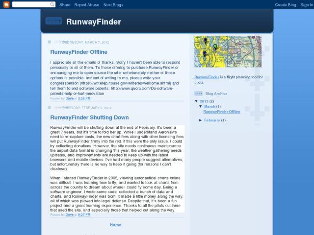 RunwayFinder