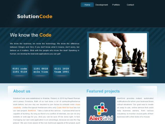 SolutionCode - Python/Django team