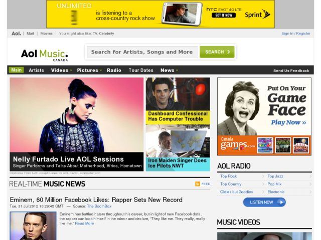 music.aol.ca
